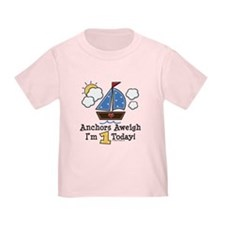 1st Birthday Sailboat Party T