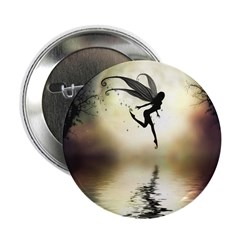 """Moonlit Waters 2.25"""" Button (10 pack)"""