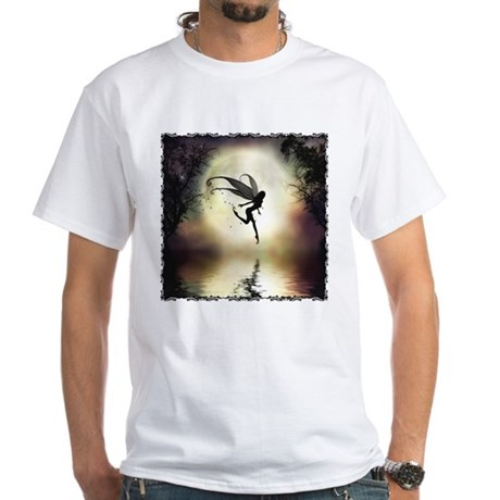 Moonlit Water White T-Shirt
