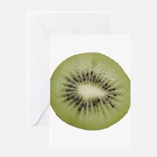 Cute Kiwi fruit Greeting Card