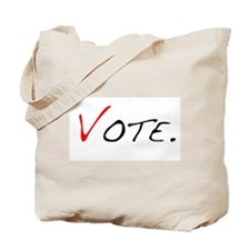 Vote. Tote Bag
