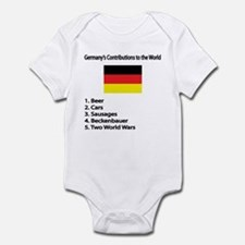 """Whooligan Germany """"Contributions"""" Infant Bodysuit"""