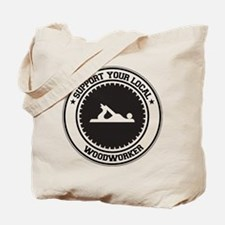 Support Woodworker Tote Bag
