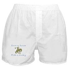 Ride A Cowboy (green/blue) Boxer Shorts