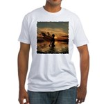 Fairy at Sunset Fitted T-Shirt