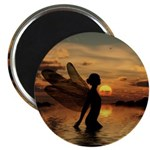 Fairy at Sunset Magnet
