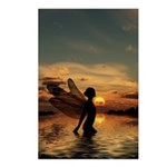 Fairy at Sunset Postcards (Package of 8)