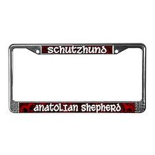 Schutzhund Anatolian Shepherd License Plate Frame