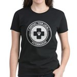 Support Veterinarian Women's Dark T-Shirt