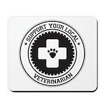 Support Veterinarian Mousepad