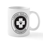 Support Veterinarian Mug