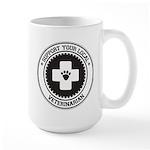 Support Veterinarian Large Mug