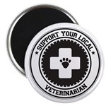 Support Veterinarian Magnet