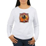 Riverside FD Station 8 Women's Long Sleeve T-Shirt