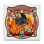 Riverside FD Station 8 Tile Coaster