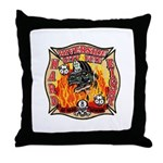 Riverside FD Station 8 Throw Pillow