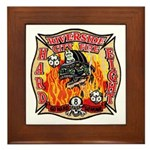 Riverside FD Station 8 Framed Tile