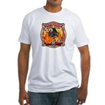 Riverside FD Station 8 Fitted T-Shirt