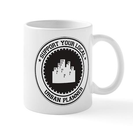 Support Urban Planner Mug