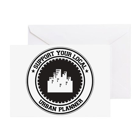 Support Urban Planner Greeting Card