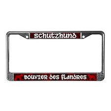 Schutzhund Bouvier des Flandres License Plt Frame