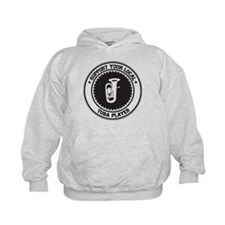 Support Tuba Player Hoodie