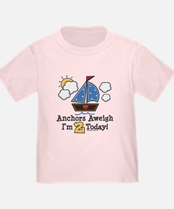 2nd Birthday Sailboat Party T