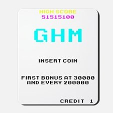 GHM High Score Mousepad