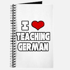 """I Love Teaching German"" Journal"