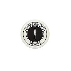 Support Therapist Mini Button