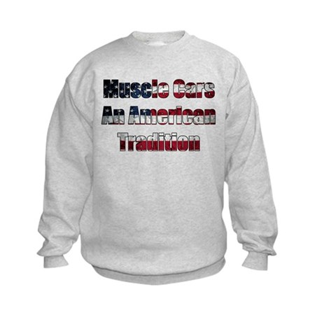Muscle Car Tradition Kids Sweatshirt