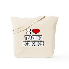 """I Love Teaching Economics"" Tote Bag"