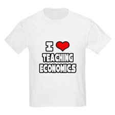 """I Love Teaching Economics"" T-Shirt"