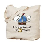 3rd Birthday Sailboat Party Tote Bag