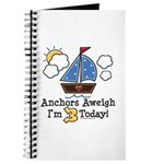 3rd Birthday Sailboat Party Journal
