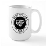 Support Teacher Large Mug