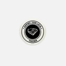 Support Teacher Mini Button