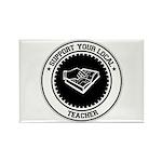 Support Teacher Rectangle Magnet (100 pack)