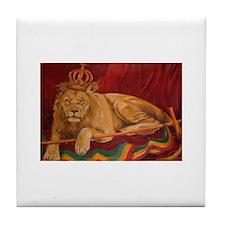 lion of judah Tile Coaster