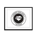 Support Tattooer Framed Panel Print