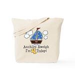 4th Birthday Sailboat Party Tote Bag
