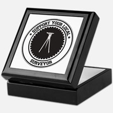 Support Surveyor Keepsake Box