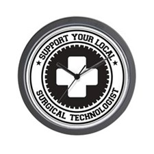 Support Surgical Technologist Wall Clock
