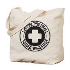 Support Surgical Technologist Tote Bag