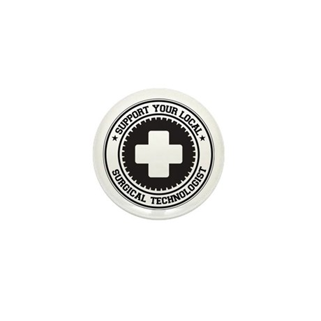 Support Surgical Technologist Mini Button (10 pack