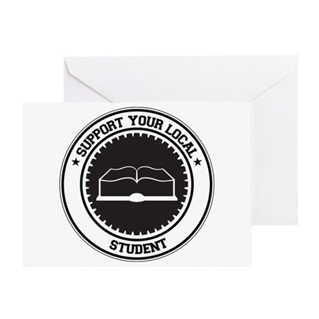 Support Student Greeting Card