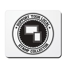 Support Stamp Collector Mousepad