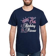 15th Birthday Princess T-Shirt