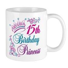 15th Birthday Princess Mug