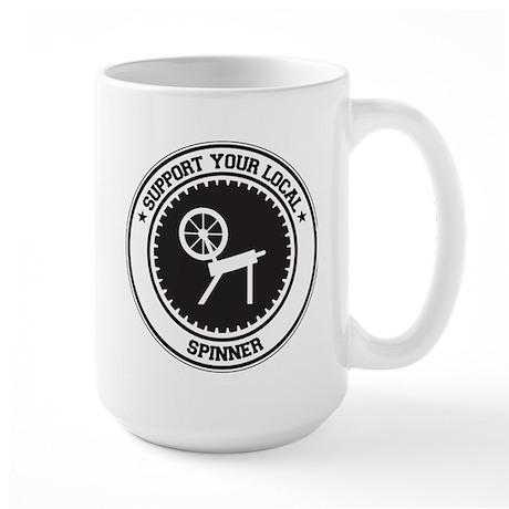 Support Spinner Large Mug